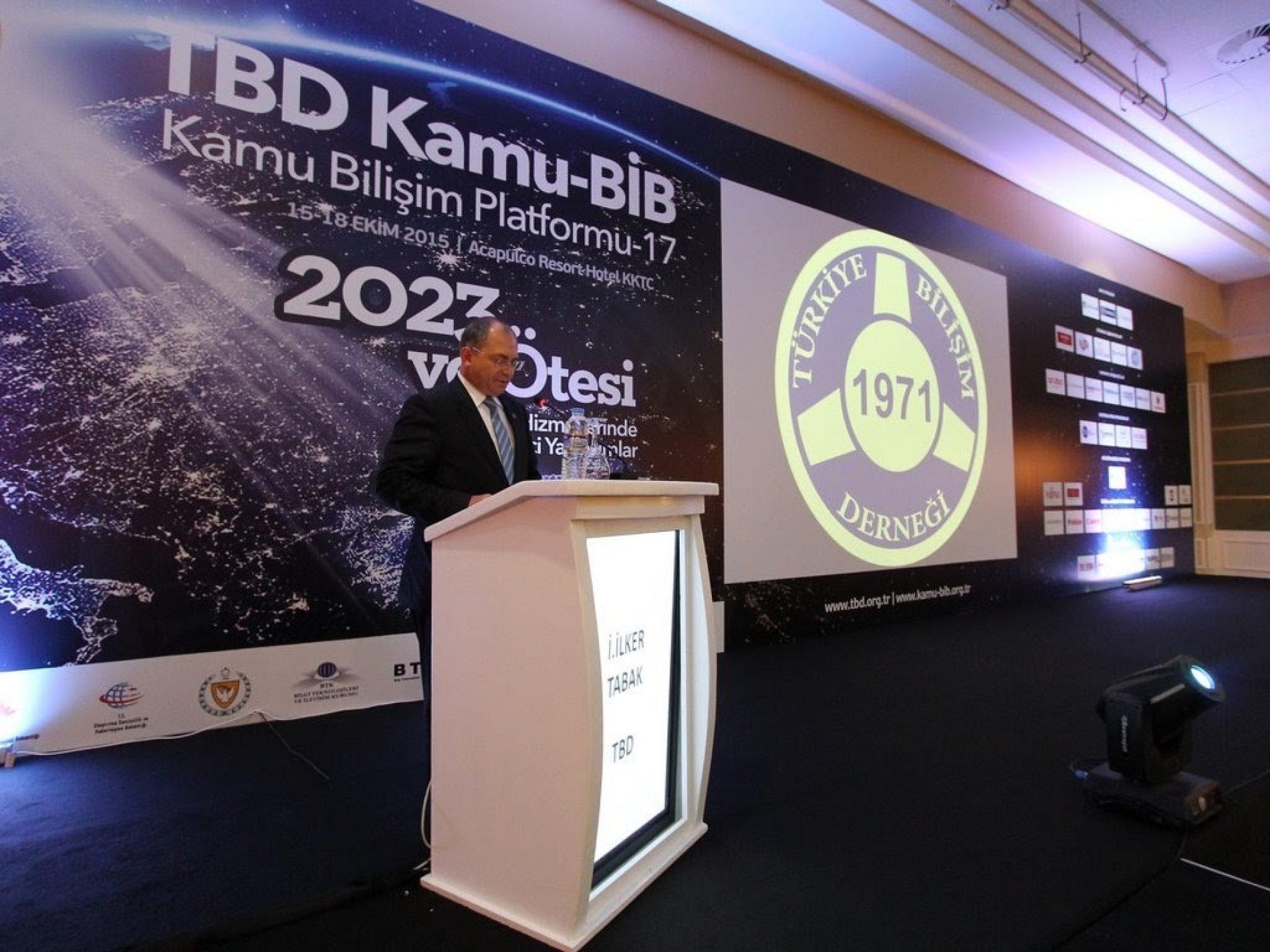 Kamu-BİB 17 Kamu Bilişim Platformu 15-18 Ekim 2015'de Girne'de gerçekleştirildi.