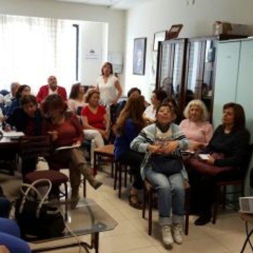 TBD Ankara Şubesi Kadın Çalışma Grubu Eğitimleri Başladı