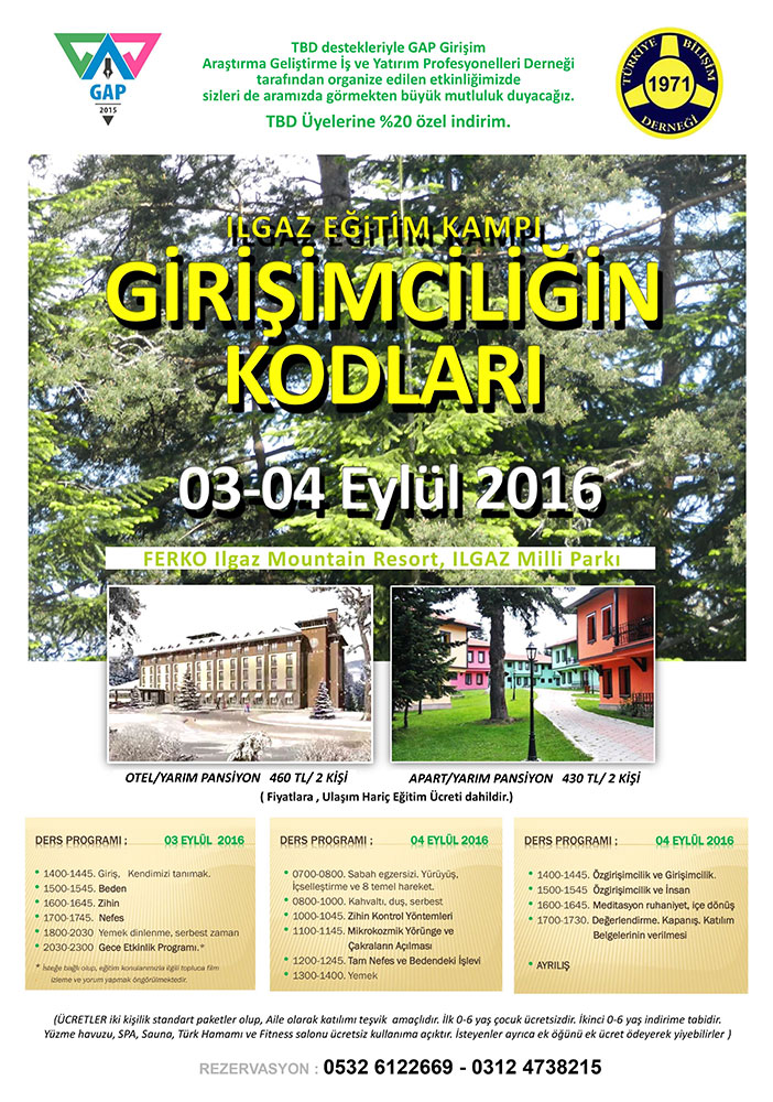 TBD-GAP-Girisim-ILGAZ-Egitim