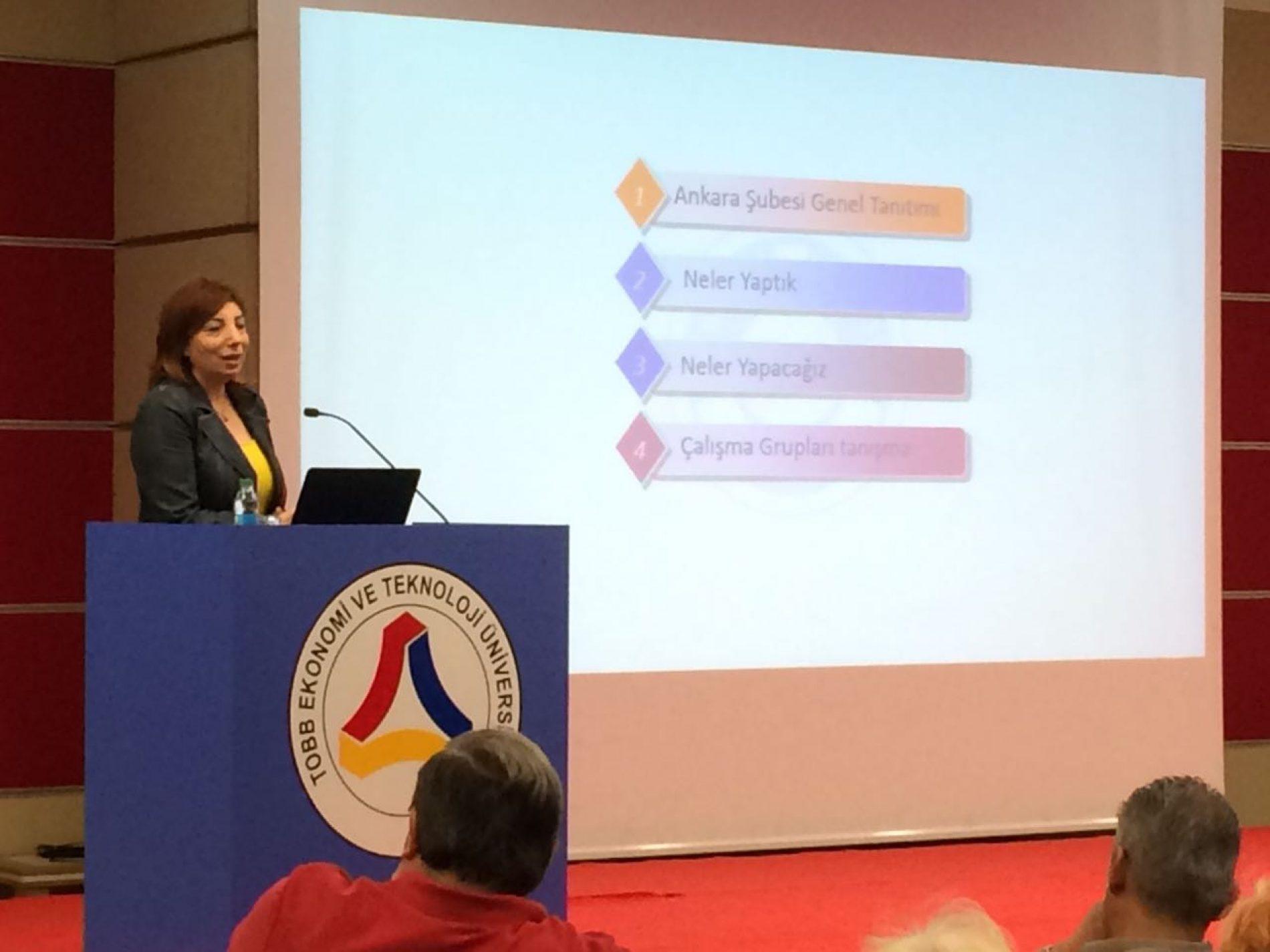 TBD Ankara Şube Çalışma Grupları Toplantısı