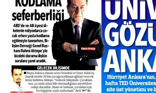 Kodlama Seferberliği – Hürriyet Ankara