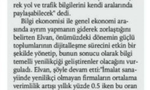 Bakan Elvan'dan Dijitalleşme Vurgusu – Antalya Gazete Bir