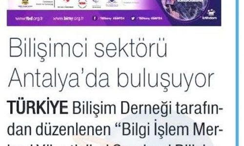 Bilişimciler Antalya'da Buluşuyor – Hürses