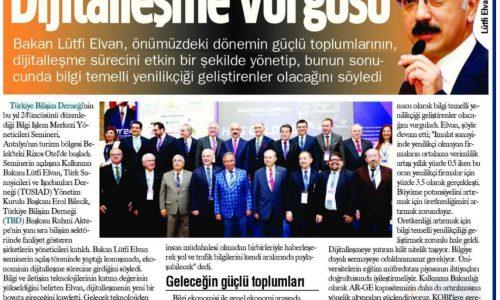 Dijitalleşme Vurgusu – Antalya Akdeniz Manşet