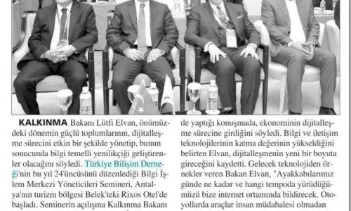 Dijitalleşme Vurgusu – Hürses (Antalya)