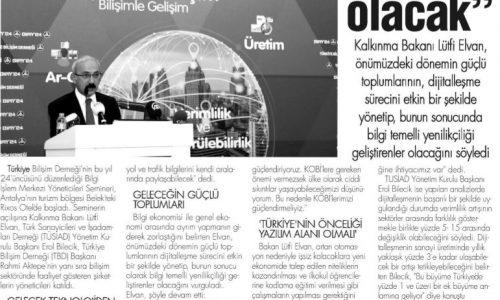 Güçlü Toplumlar Dijitalleşmeyi Etkin Kullananlar Olacak – Bizim Gazete