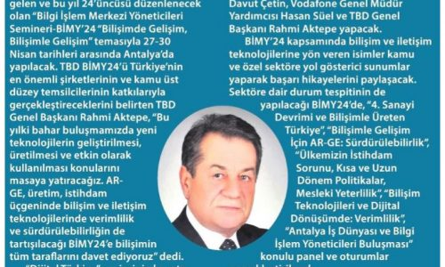 Gündem Bilişim Olacak – Milliyet Ankara