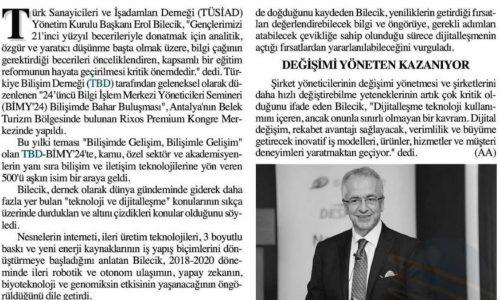 Kapsamlı Bir Eğitim Reformu Gerekli – Başkent Ankara