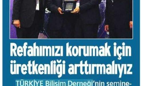 Refahımızı Korumak İçin Üretkenliğimizi Arttırmalıyız – Antalya Ekspres Gazetesi