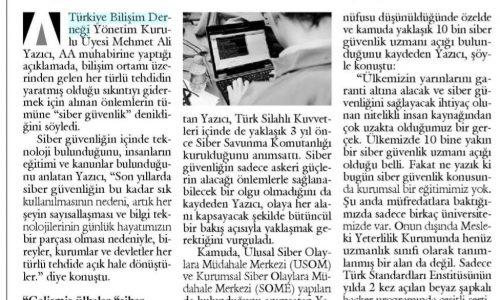 Türkiye'de 10 Bine Yakın Siber Güvenlik Uzmanı Açığı Var- Ayrıntılı Haber