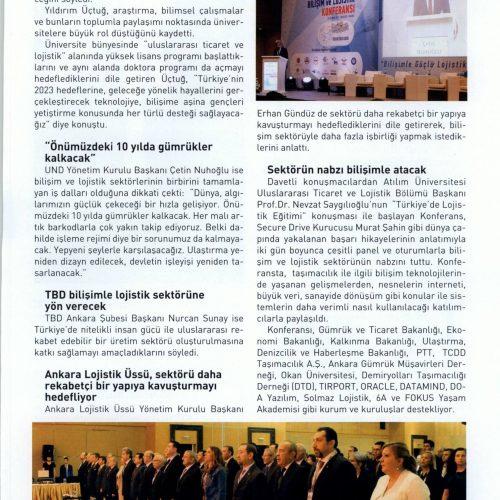 2. Uluslararası Bilişim ve Lojistik Konferansı