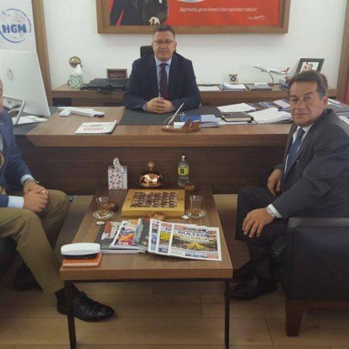 UDHB Haberleşme Genel Müdürü Ensar Kılıç'a Ziyaret