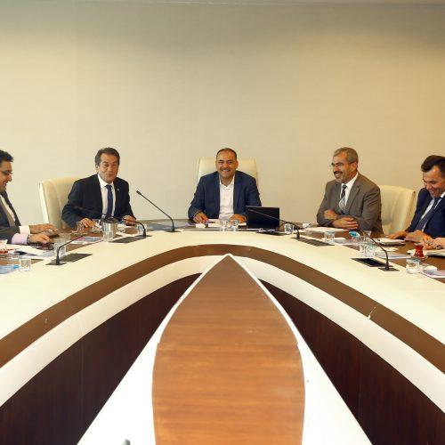TBD Heyeti BTK Başkanı Dr. Ömer Fatih Sayan'ı Ziyaret Etti