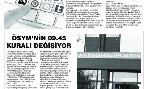TDK Sosyal Medya Türkçesi Arıyor – GAZETE ANADOLU