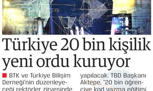 Türkiye 20 Bin Kişilik Yeni Ordu Kuruyor – DOĞRU HABER GAZETESİ