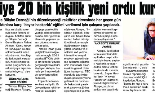 Türkiye 20 Bin Kişilik Yeni Ordu Kuruyor – SİİRT GAZETESİ
