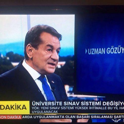 TBD Genel Başkanı Aktepe TRT Haber'de