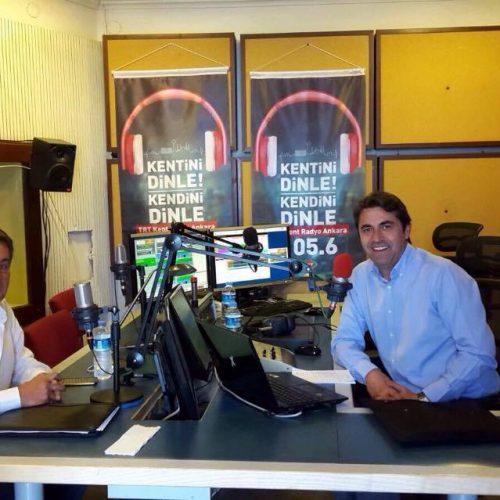 TBD Genel Başkanı Rahmi Aktepe TRT Kent Radyo'nun Konuğu Oldu