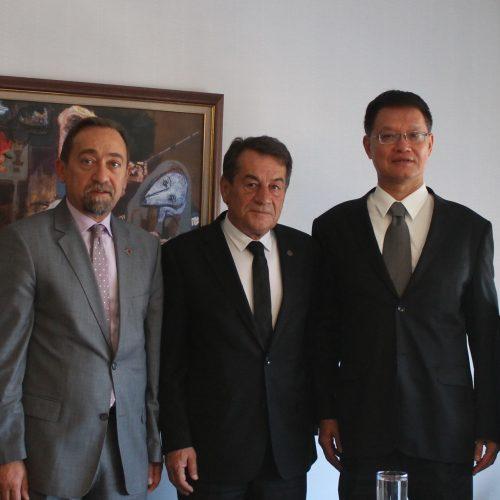 Tayvan Ankara Büyükelçiliği'nden TBD'ye Ziyaret