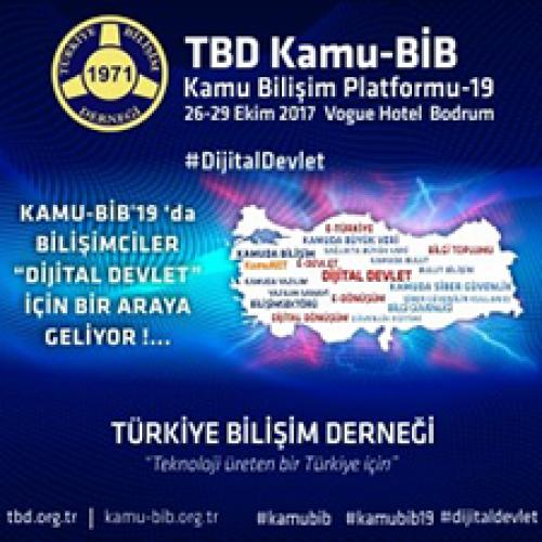 """KAMU-BİB'19 """"Dijital Devlet"""" için Toplanacak"""