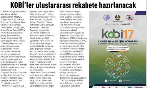 KOBİ'ler Uluslararası Rekabete Hazırlanacak – BT HABER