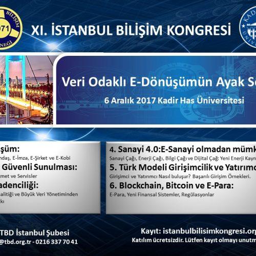 XI. İSTANBUL BİLİŞİM KONGRESİ