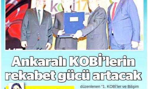 Ankaralı KOBİ'lerin Rekabet Gücü Arttırılıyor – ANKARA 24 SAAT