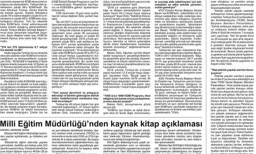 """Bakan Özlü: """"KOBİ'lerimize 'Türkiye'de Yapın Desteği Kapın' Diyoruz"""" – ELBİSTANIN SESİ GAZETESİ"""