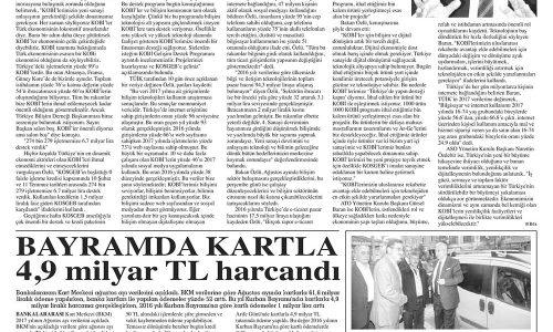'KOBİ'lerimize 'Türkiye'de' Yapın DESTEĞİ KAPIN' Diyoruz' – GAZETE ARENA