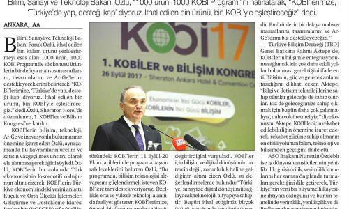'Türkiye'de Yap, Desteği Kap' Çağrısı – HÜRSES GAZETESİ