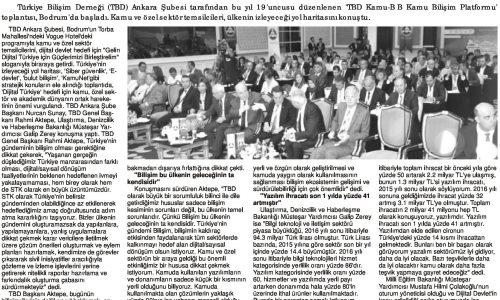 Türkiye'nin Dijital Geleceği Tartışılıyor – BODRUM EKSPRES
