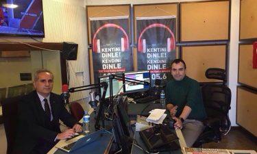 TBD Yönetim Kurulu Üyemiz Ertan Barut TRT Kent Radyo'nun Konuğu Oldu