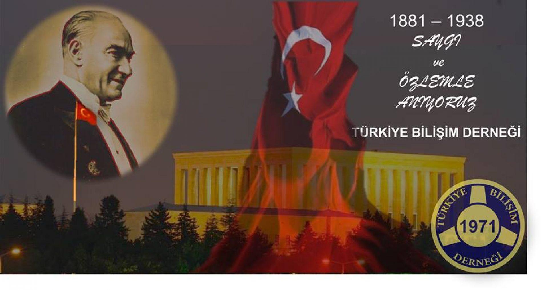 Ulu Önder Atatürk'ü Saygı ve Rahmetle Anıyoruz.