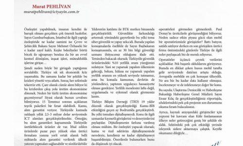 İlle de Üretim Ekonomisi – ICT MEDYA