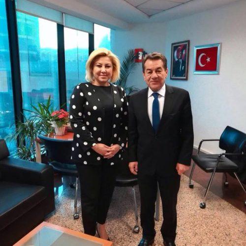 Genel Başkanımız Rahmi Aktepe Medya Temsilcilerini Ziyaret Etti