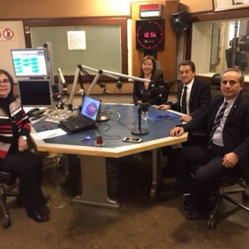 Genel Başkanımız Rahmi Aktepe ve Yönetim Kurulu Üyemiz Ertan Barut TRT Radyo 1'de Yaşamın İzi Programına Katıldı