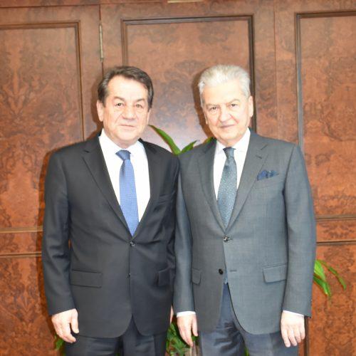 İzmir Ticaret Odası Başkanı Ekrem Demirtaş'ı Ziyaret Ettik