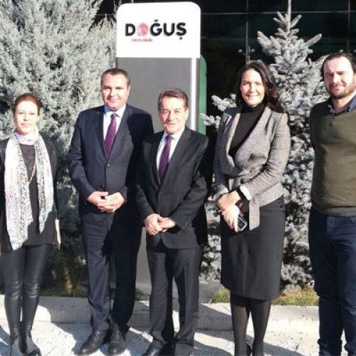 Genel Başkanımız Rahmi Aktepe NTV Ankara İstihbarat Sorumlusu Ahmet Ergen'i Ziyaret Etti