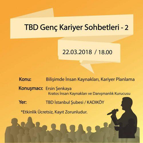 TBD Genç Kariyer Sohbetleri – 2