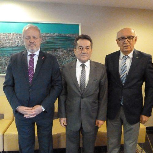 TBD Genel Başkanı Rahmi Aktepe Ankara Sanayi Odası Başkanını Ziyaret Etti