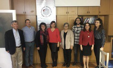;  TBD Ankara Şubesi Yönetim Kurulu Bilgisayar Mühendisleri Odasını ziyaret etti.