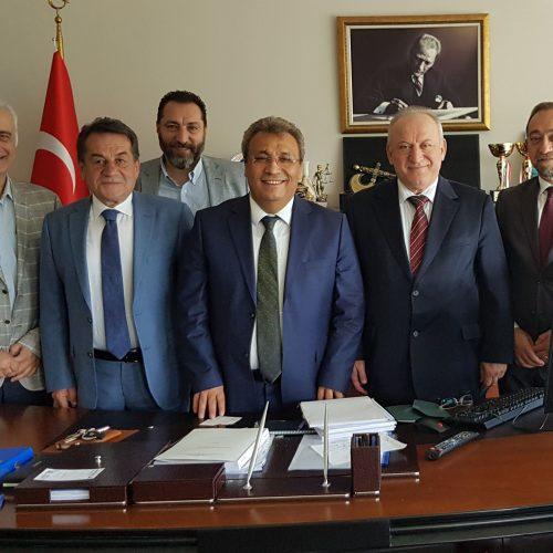 TBD'den Hacettepe Üniversitesi Hukuk Fakültesi Dekanı Prof.Dr.Çetin Arslan'a Ziyaret
