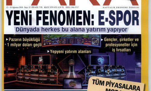 """""""Türkiye'nin Dijital Dönüşüm Konusundaki Niyeti Samimi"""" – PARA DERGİSİ"""