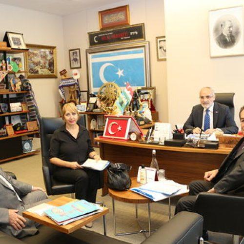 Aktepe, Cumhurbaşkanı Başdanışmanı Yalçın Topçu'yı Ziyaret Etti