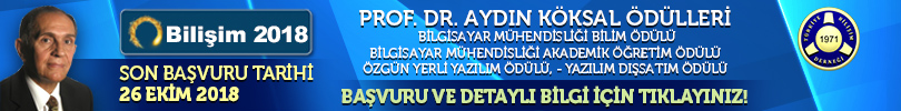TBD Prof. Aydın KÖKSAL Ödülleri