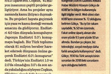 turkiye-endustri-6-0-konusmali-dunya-gazetesi-tbd