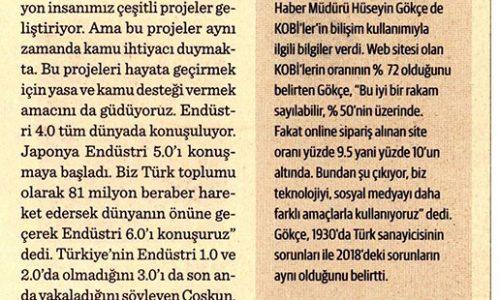 Türkiye Endüstri 6.0 Konuşmalı – DÜNYA GAZETESİ