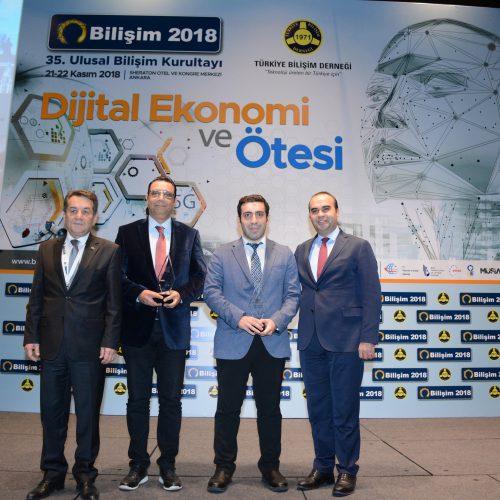 Bilişim 2018 Hizmet Ödülleri Sahiplerini Buldu