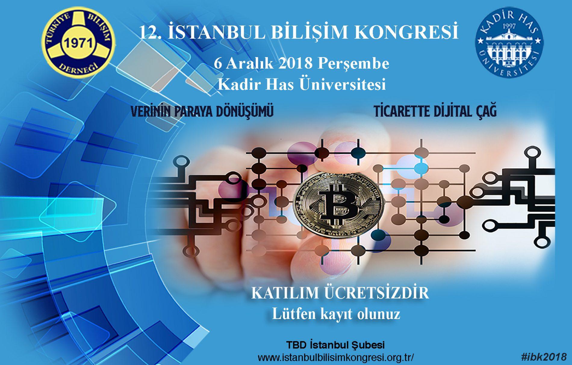 XII.İstanbul Bilişim Kongresi Basın Bülteni