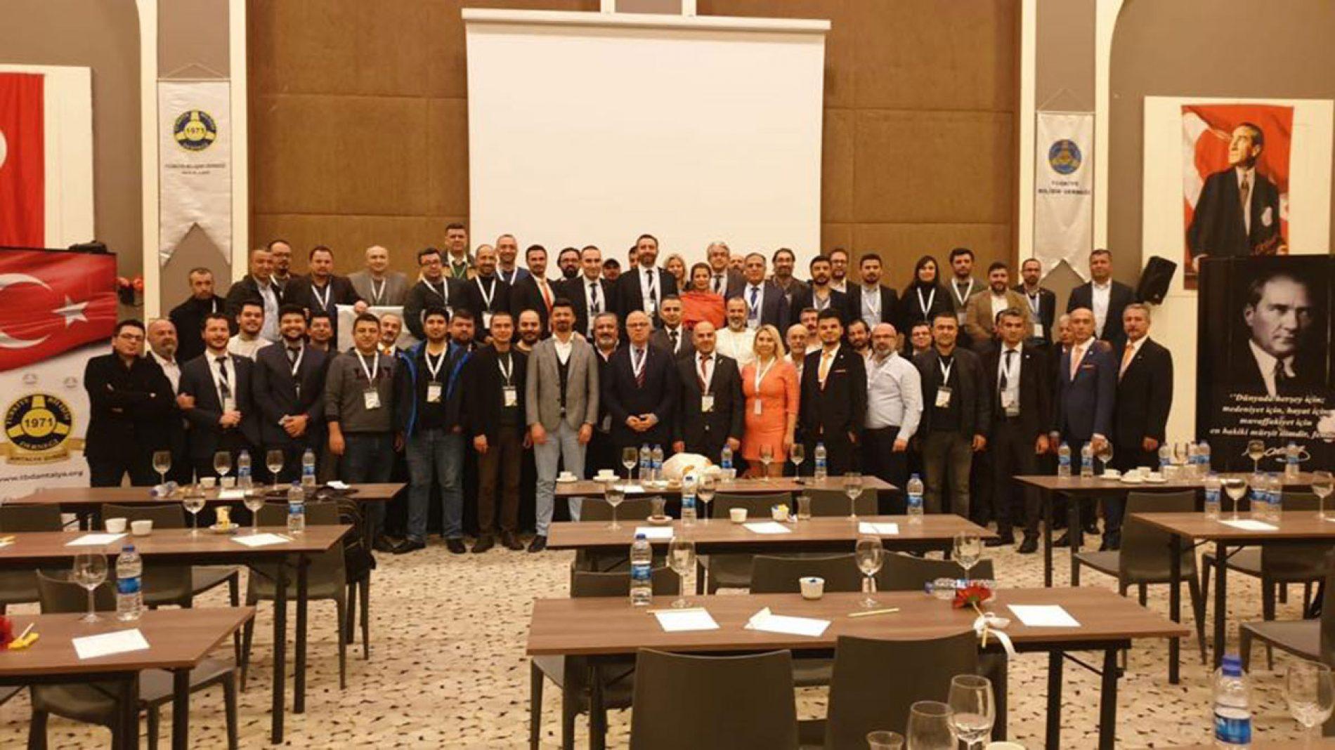 TBD Antalya Şubesi 6. Olağan Genel Kurulu Gerçekleştirildi